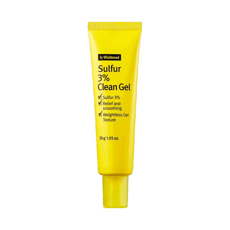 Sulfur 3% Clean Gel