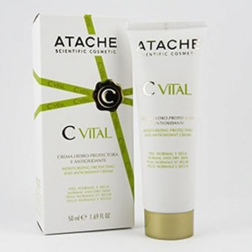 Crema Hidro-Protectora y Anti-Oxidante - C Vital Atache
